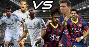 برشلونة ريال مدريد 22-3-2015 اليوم