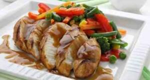 طريقة عمل صدور الدجاج المشوية للرجيم