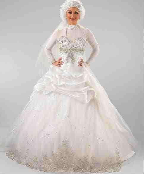 فساتين-زفاف-محجبات-2015-ثقف-نفسك-12