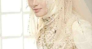 اجمل فساتين الزفاف للمحجبات 2015