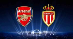 موعد مشاهدة مباراة موناكو وارسنال في دوري أبطال أوروبا اليوم الثلاثاء 17/3/2015