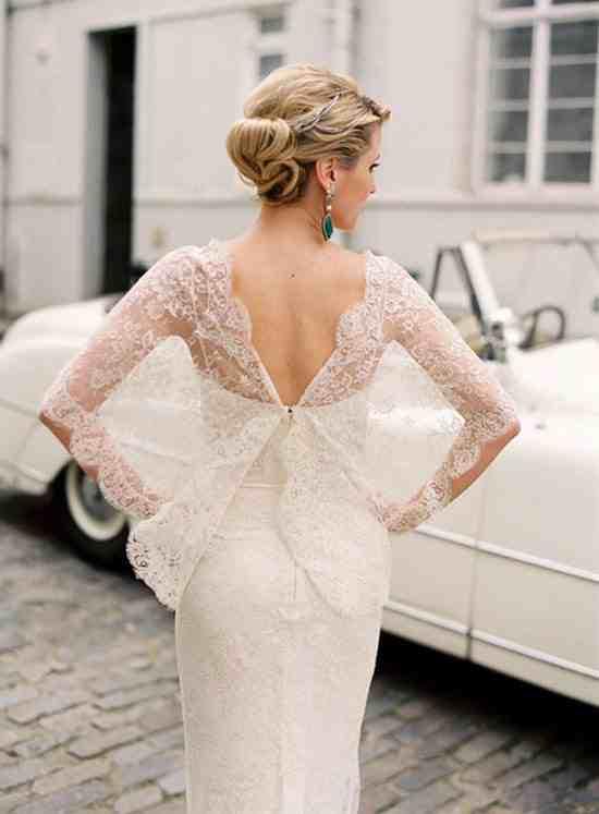 احدث فساتين زفاف 2015