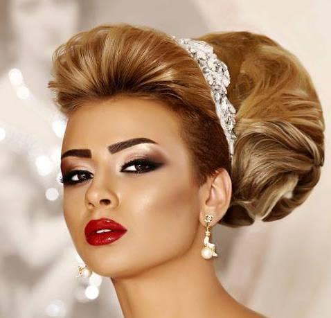 تسريحات شعر 2015 للسهرات